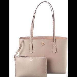 Kate Spade crossgrain Leather Tote with wr…